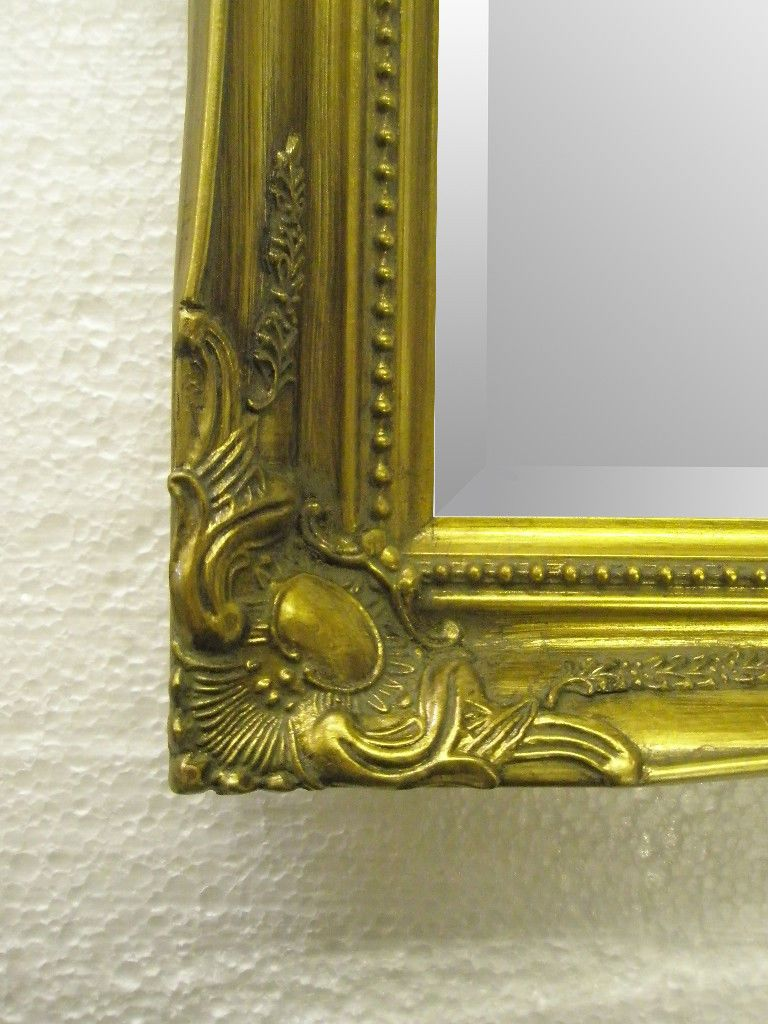 New Antique Gold Shabby Chic Ornate Mirror Choose Your